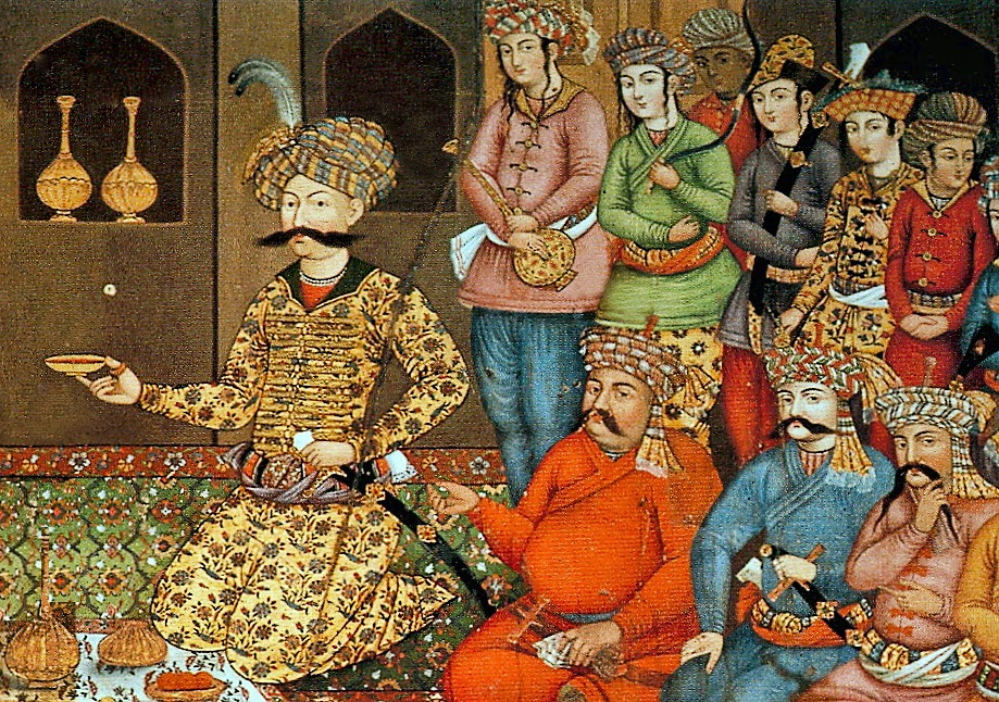 Shah Abbas The Great at Court